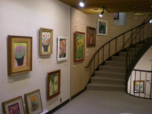 2階の展示