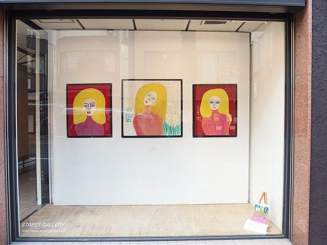 shisuko tohmoto STREET GALLERY 2016