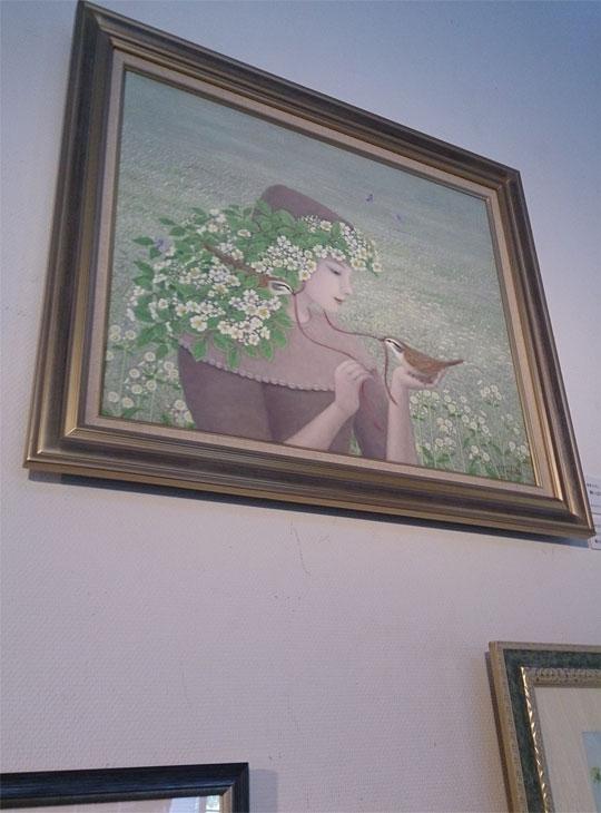 第8回グランマ絵画公募展大賞「野いばらの咲く頃」